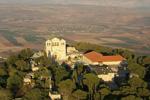 Гора Фавор-место Преображения  Господня