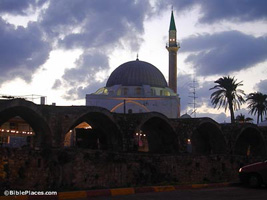 Османская страница: Мечеть Ал Джазара